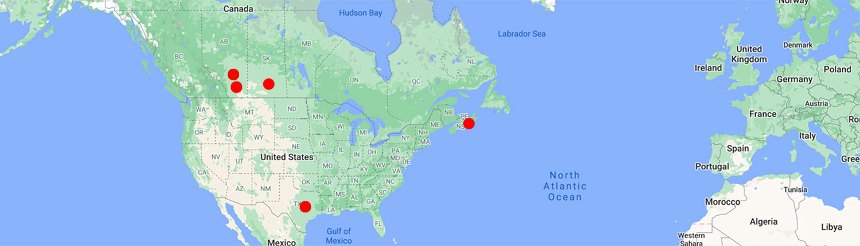 Bordis Effluent Solutions Map