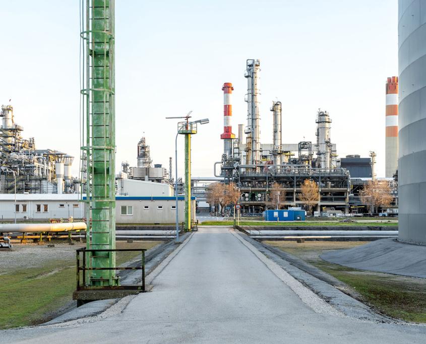 Petróleo y gas upstream y downstream
